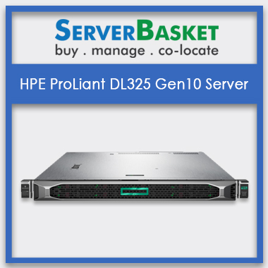 HPE ProLiant DL325 Gen10 Servers, HPE Proliant DL325 Gen10 Servers in India, HPE Proliant DL325 Gen10 Servers at lowest price