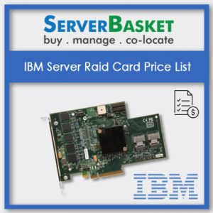 IBM Server Raid cards, IBM Server Raid card in India, IBM Server Raid card at low price
