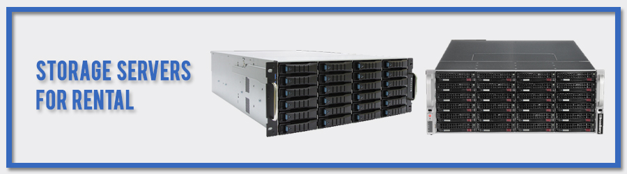 Storage Servers For Rental