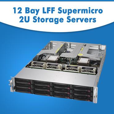 12 Bay LFF Supermicro 2U Storage Servers, Supermicro 2U Rack Servers, Supermicro 2U Rack Servers AT LOWEST PRICE, Supermicro 2U Rack Servers in India, Supermicro 2U Rack Servers at lowest price in India