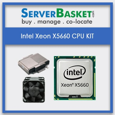 Buy Intel Xeon X5660 Processor At Best Deal Price in India Online from Server Basket, Buy Intel Xeon X5660 CPU Kit At Reasonable Price Online in India