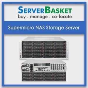 Supermicro NAS Storage Server