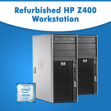 Refurbished HP Z400 Workstation