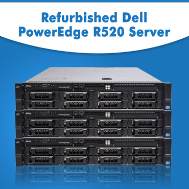 Refurbished Dell PowerEdge R520 Rack Server