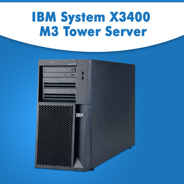 Buy IBM System x3400 M3 Tower Server at Lowest Price in India, Purchase IBM Server at Cheap Price in India