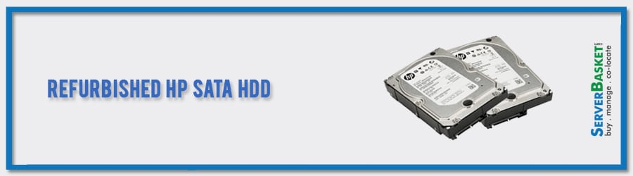 Buy Refurbished HP SATA HDD at Lowest Price from Server Basket in India