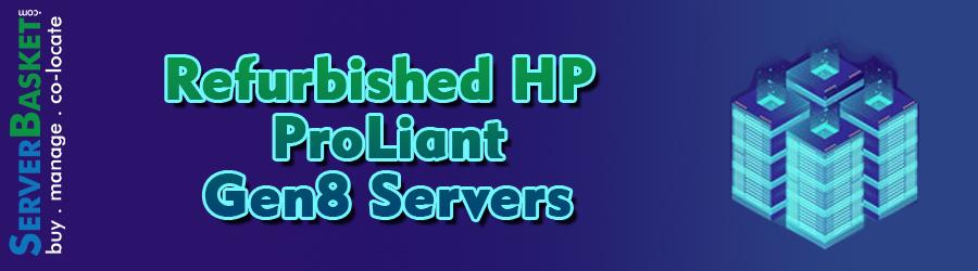 HP Refurbished Gen5 Servers