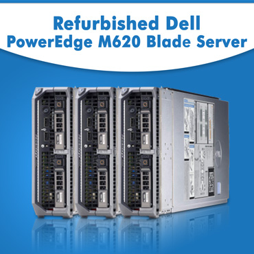 Refurbished Dell PowerEdge M620 Blade Server