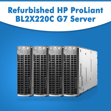Refurbished HP ProLiant BL2X220C G7 Server