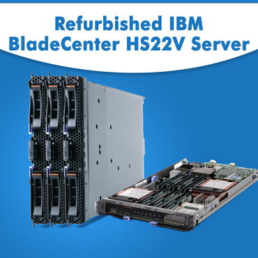 Refurbished IBM BladeCenter HS22V Server