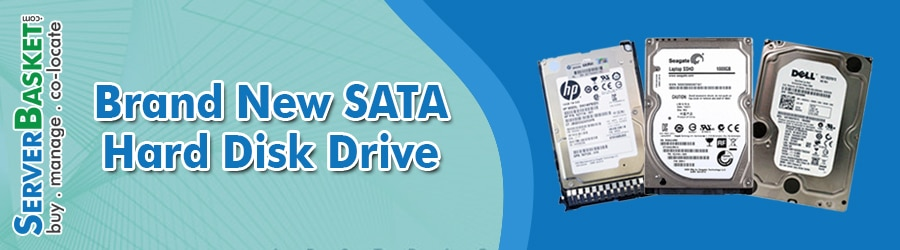 Buy Brand New SATA HDD(Hard Disk Drive) Online At Server Basket, Purchase New SATA HDD Drives