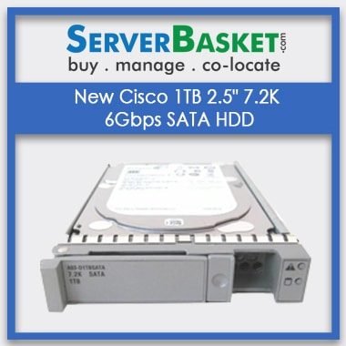Buy Cisco 1TB 7.2K SATA 6Gbps At Lowest Price In India Online from Server Basket, Get Cisco 1TB 7.2K SATA 6Gbps SFF Drive, Buy Cisco SATA HDD Drive