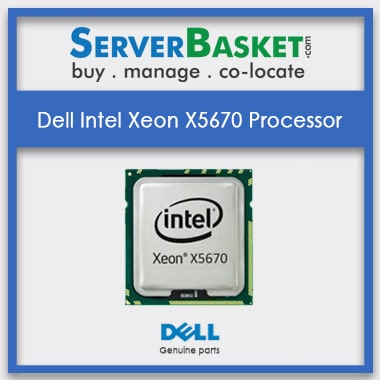 Buy Dell Intel Xeon X5670 Processor Online from Server Basket, Buy Dell Xeon X5670 CPU Online, Buy Intel Xeon X5670 Processor in India, Used Intel Xeon Processors