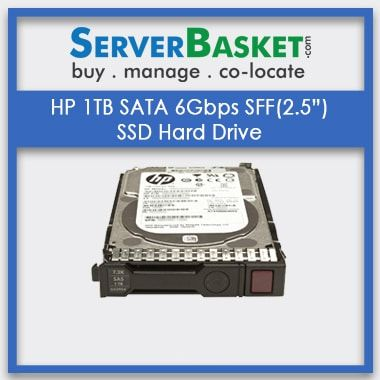 """Buy HP 1TB SATA 6Gbps SFF(2.5"""") SSD Hard Drive, Purchase HP 1TB SATA HDD Hard Drive"""