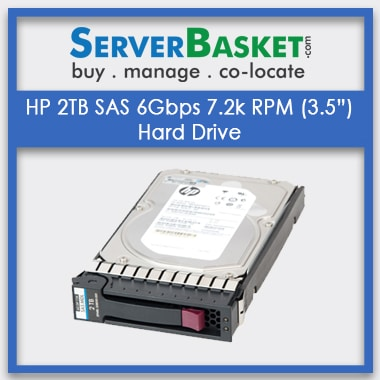 Buy HP 2TB SAS HDD Hard Disk Drive At Lowest Price in India, Purchase HP 2TB SAS HDD Drive