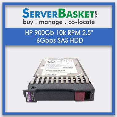 Buy HP 900GB SAS 10K 6Gbps SFF(2-5) HDD Hard Drive At Lowest Price in India