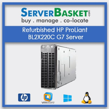 Buy Refurbished HP ProLiant BL2X220C G7 Server At Lowest Price in India Online From Server Basket, Buy HP BL2X220C G7 Server Online, Purchase HP BL2X220C Online