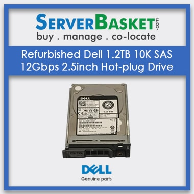 Buy Dell 1.2TB 10K rpm SAS 12Gbps 2.5in Hot-Plug drive Online, Purchase Dell 1.2TB SAS HDD Online, Get Dell 1.2TB Hard Drive Online, Dell SAS Hard Drives for Sale