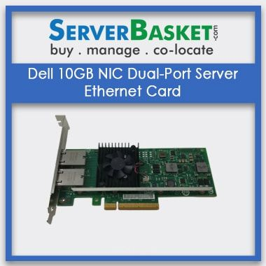 Buy Dell 10GB NIC Dual-Port Server Ethernet Card, Purchase Dell 10GB Lan Cards Online, Get Ethernet Cards At Best Deal Price in India