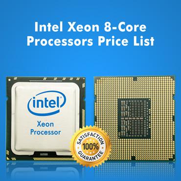 Intel Xeon 8-Core Processors Price List