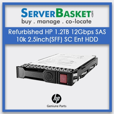 Refurbished HP 1.2TB 12G SAS 10K 2.5inch Enterprise HDD, Buy Refurb HP 1.2TB SAS HDD, Refurb HP 1.2TB HDD Hard Drive Online