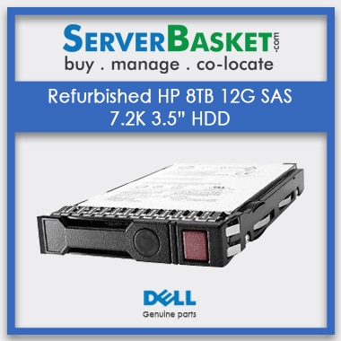 "Buy Refurbished HP 8TB 12G SAS 7.2K 3.5"" HDD Hard Drive Online, Buy HP 8TB SAS HDD, Purchase HP 8TB Hard Drive Online"
