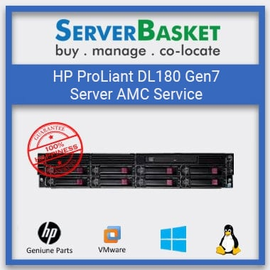 HP ProLiant DL180 Gen7 Server AMC Service | HP Server AMC | Server AMC At Lowest Price | HP DL180 G7 Server Management