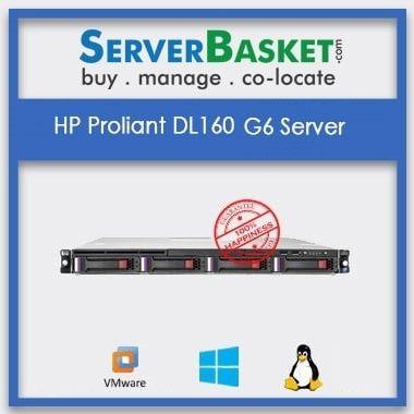 Refurbished HP DL160 Gen6 Server | HP DL160 G6 Server for Sale | Buy HP DL160 Gen6 Server | HP Proliant servers