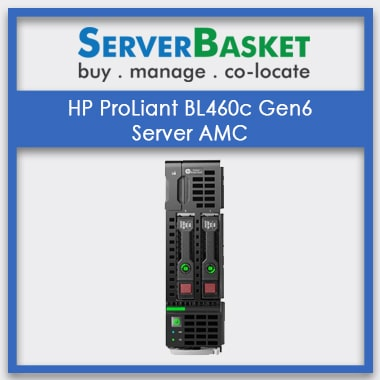 HP ProLiant BL460c Gen6 Server AMC | Server Maintenance Services At Low Cost | HP Server Management For Businesses