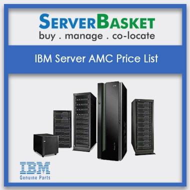 IBM Server AMC Price List | IBM Server Management At Low Cost | IBM Rack, Tower, Blade Server At Low Cost Online