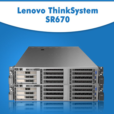 Buy Lenovo ThinkSystem SR670 in India | Order Lenovo ThinkSystem SR670 At best Price | Get Lenovo ThinkSystem SR670 Delivery to any location in India