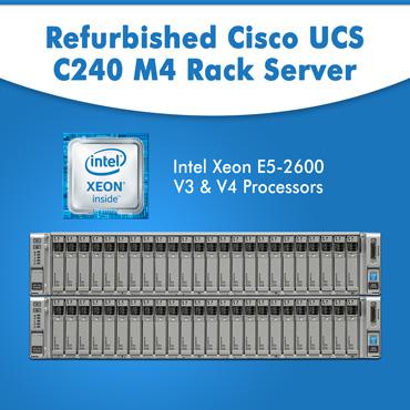 Refurbished Cisco UCS C240 M4 Rack Server