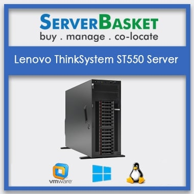 Lenovo Thinksystem ST550 Server | Lenovo Tower Server | buy lenovo ThinkSystem Online