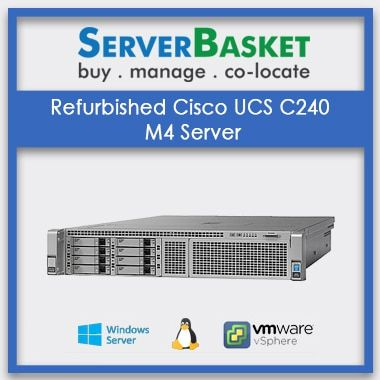 Refurbished Cisco UCS C240 M4 server|2U rack server|Cisco used server|Intel xeon processor