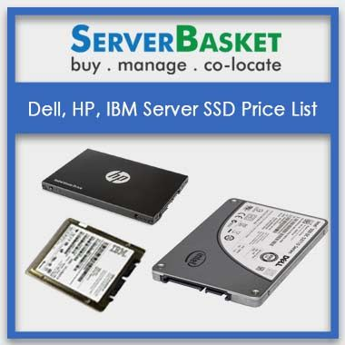 Dell, HP, IBM Server SSD Price List | Server SSDs price list in India| Best Price