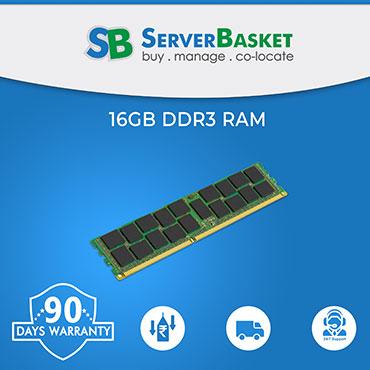 16GB RAM For Dell HP Servers, 16GB ECC Memory, 16GB DDR3 UDIMM RAM, 16GB DDR3 RDIMM Memory