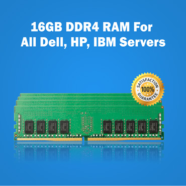 16GB DDR4 RAM For All Dell, HP, IBM Servers
