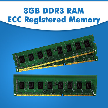 8GB RAM For Dell HP Servers, 8GB ECC Memory, 8GB DDR3 UDIMM RAM, 8GB DDR3 RDIMM Memory