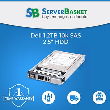 Dell 1.2TB SAS 10K hard Disk Drive