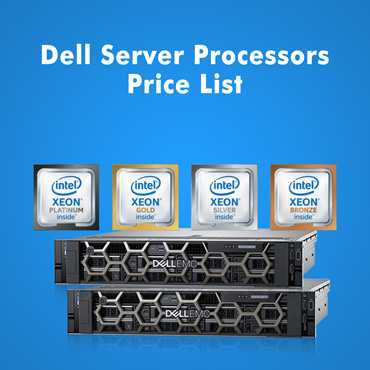 Dell Server Processors Price List