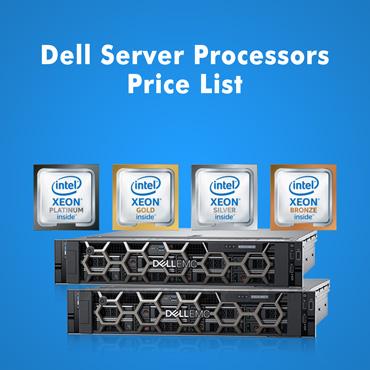 Dell Server Processors Price List