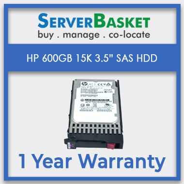 HP 600Gb 15K RPM 12Gb/s SAS HDD