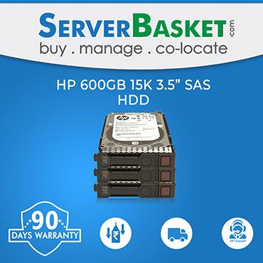 HP 600Gb 15K RPM 12Gb/s SAS HDD