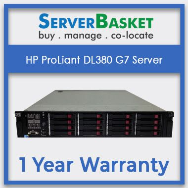 Buy HP ProLiant DL380 G7 Server Onlline At Server Basket | HP DL380 G7 Server | HPE Servers | HPE Rack, Tower, Blade Servers