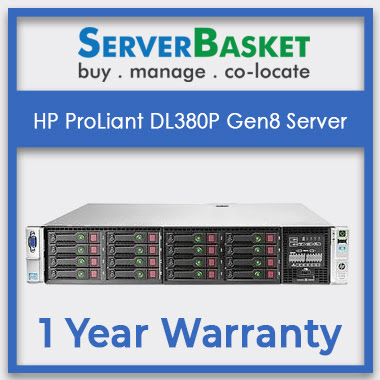 Buy HP ProLiant DL380P Gen8 Server | Get HP DL380p G8 server | Get 2U Rack Server Online at Server Basket