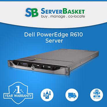 Dell poweredge R610 server, dell r610 rack server, dell r610 server price in India, dell r610 server price, buy dell r610 server in India