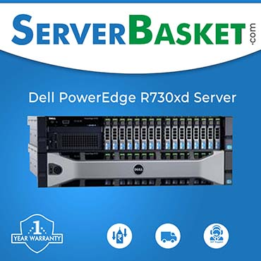 Dell PowerEdge R730xd Rack Server