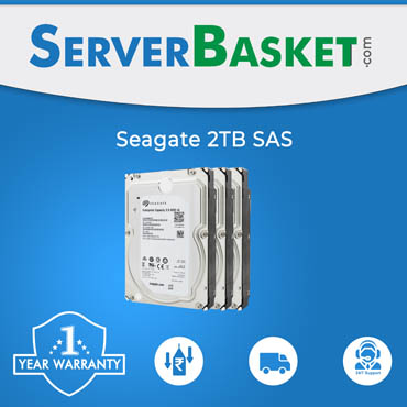 "Seagate 2TB 7.2K 3.5"" HD For Dell & HP Servers"