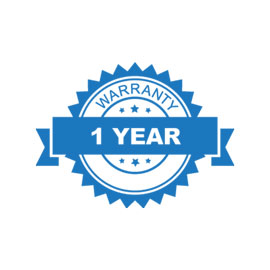 1 Year assured warranty