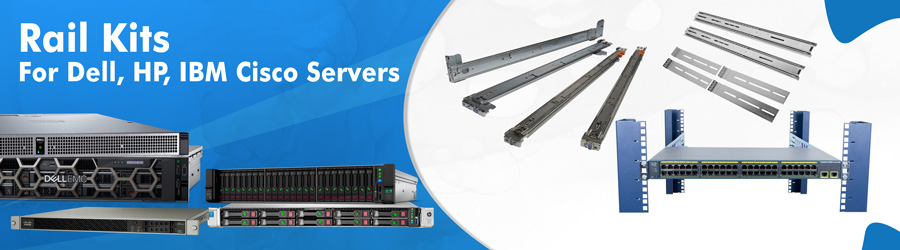 rail kits for dell hp ibm cisco server
